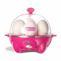 Dash Rapid 6 Egg Cooker - Pink - DEC005PK