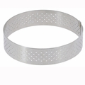 "de Buyer 11-1/4"" Round Stainless Steel Perforated Tart Ring  - 3099.10"