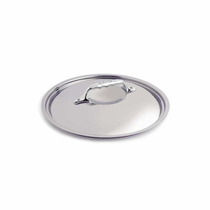"""de Buyer 6.3"""" Stainless Steel Lid - Fits both Affinity and Copper - 3709.16"""