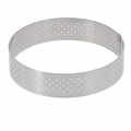 "de Buyer 8"" Round Stainless Steel Perforated Tart Ring  - 3099.08"