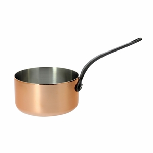 de Buyer Inocuivre 1.9 Qt. Saucepan w/Cast Iron Handle - 6460.16