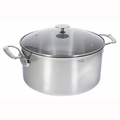 de Buyer Milady 8.45 Qt. Stewpan w/Glass Lid - Stainless Steel - 3427.28