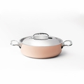de Buyer Prima Matera 5.2 Qt. Saute Pan w/Stainless Steel Lid - 6241.28