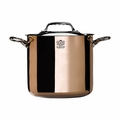 "de Buyer Prima Matera 7-7/8"" Stockpot w/Stainless Steel Lid - 6244.20"