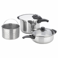 Fagor Innova 5-Pc. Pressure Cooker Set - 918010108