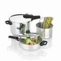 Fagor Splendid 2 x 1 - 5-Pc. Pressure Cooker Set - 918060803