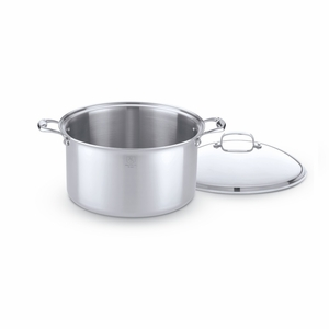 Hammer Stahl 16-Quart Stock Pot w/Cover - HSC-14316