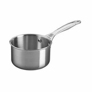 Le Creuset 1 1/3 Qt. Open Saucepan - Stainless Steel - SSP1000-14