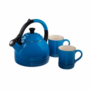 Le Creuset 1.7 Qt. Peruh Kettle and Mug Set - Marseille - Q12-KM3-59