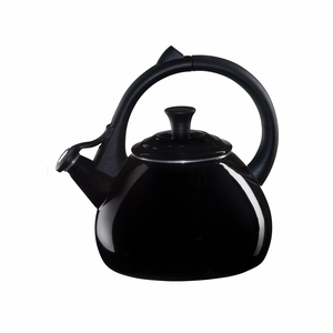 Le Creuset 1.6 Qt. Oolong Kettle - Black - Q9700-31