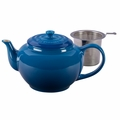 Le Creuset 1 Qt. Large Teapot with Stainless Steel Infuser - Marseille - PG0302SS-1059