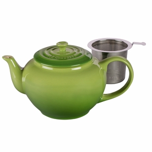 Le Creuset 1 Qt. Large Teapot with Stainless Steel Infuser - Palm - PG0302SS-104P