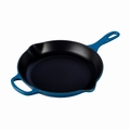 "Le Creuset 10 1/4"" (1 3/4 Qt.) Signature Iron Handle Skillet - Marseille - LS2024-2659"