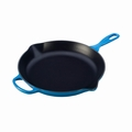 "Le Creuset 11 3/4"" (2 3/8 Qt.) Signature Iron Handle Skillet - Marseille - LS2024-3059"