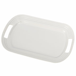 "Le Creuset 16 1/4"" Serving Platter - White - PG0309-4116"