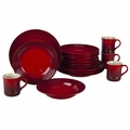 Le Creuset 16 Piece Dinnerware Set - Cherry - PG9016-67