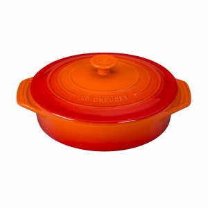 """Le Creuset 2 1/10 Qt. (9 1/2"""") Covered Round Casserole - Flame - PG0562S-242"""