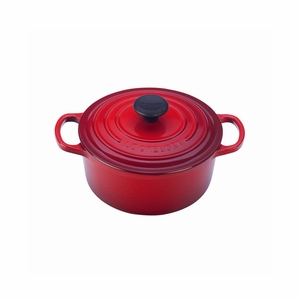 Le Creuset 2 Qt. Signature Round French Oven - Cherry - LS2501-1867