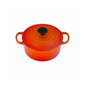 Le Creuset 2 Qt. Signature Round French Oven - Flame - LS2501-182