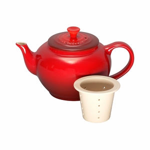 Le Creuset 22 oz. Small Teapot with Infuser - Cherry - PG0302-0867
