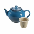Le Creuset 22 oz. Small Teapot with Infuser - Marseille - PG0302-0859