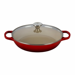Le Creuset 3.5 qt. Buffet Casserole with Glass Lid - Cherry (2016 House Special) - LS2680-3067SS