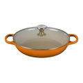 Le Creuset 3.5 qt. Buffet Casserole with Glass Lid - Flame (2016 House Special) - LS2680-302SS