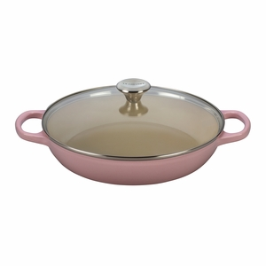 Le Creuset 3.5 qt. Buffet Casserole with Glass Lid - Hibiscus (2016 House Special) - LS2680-3014SS