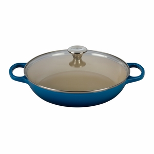 Le Creuset 3.5 qt. Buffet Casserole with Glass Lid - Marseille (2016 House Special) - LS2680-3059SS