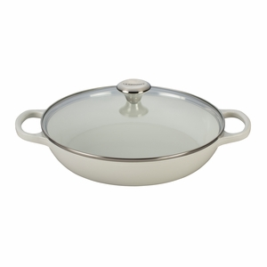 Le Creuset 3.5 qt. Buffet Casserole with Glass Lid - White (2016 House Special) - LS2680-3016SS