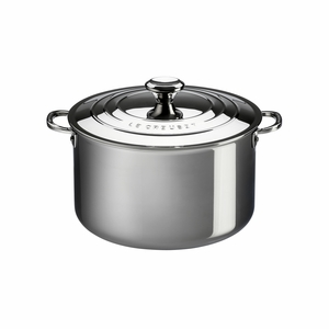 Le Creuset 3 Qt. Deep Casserole with Lid - Stainless Steel - SSP3100-18
