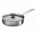 Le Creuset 3 Qt. Saut� Pan with Lid - Stainless Steel - SSP5100-24