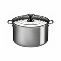 Le Creuset 4 Qt. Casserole with Lid - Stainless Steel - SSP3100-20