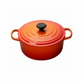 Le Creuset 5 1/2 Qt. Signature Round French Oven - Flame - LS2501-262