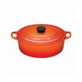 Le Creuset 5 Qt. Signature Oval French Oven - Flame - LS2502-292