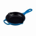 "Le Creuset 6 1/3"" (1/2 Qt.) Signature Iron Handle Skillet - Marseille - LS2024-1659"