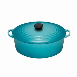 Le Creuset 6 3/4 Qt. Signature Oval French Oven - Caribbean - LS2502-3117
