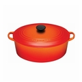 Le Creuset 6 3/4 Qt. Signature Oval French Oven - Flame - LS2502-312