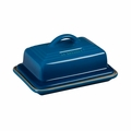 "Le Creuset 6 3/4"" x 5"" Heritage Butter Dish - Marseille - PG0307-1759"