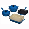 Le Creuset 6 Piece Signature Set - Marseille - MS1406-59