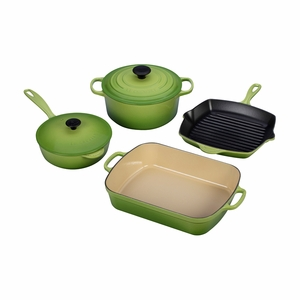 Le Creuset 6 Piece Signature Set - Palm - MS1406-4P