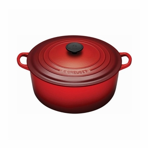 Le Creuset 7 1/4 Qt. Signature Round French Oven - Cherry - LS2501-2867