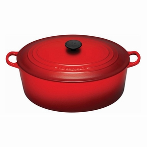 Le Creuset 9 1/2 Qt. Signature Oval French Oven - Cherry - LS2502-3567