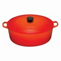 Le Creuset 9 1/2 Qt. Signature Oval French Oven - Flame - LS2502-352