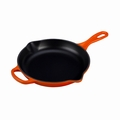 "Le Creuset 9"" (1 3/8 Qt.) Signature Iron Handle Skillet - Flame - LS2024-232"