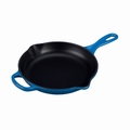 "Le Creuset 9"" (1 3/8 Qt.) Signature Iron Handle Skillet - Marseille - LS2024-2359"