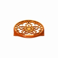 "Le Creuset 9"" Deluxe Round Trivet - Flame - N0200-2"