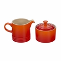 Le Creuset Cream and Sugar Set - Flame - PG8005-102