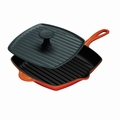 Le Creuset Panini Press and Skillet Grill Set - Flame - L4098-2