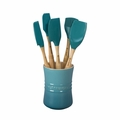 Le Creuset Revolution 6 Piece Utensil Set - Caribbean - VB30016-17